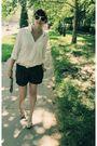 Brown-tally-weijl-shorts
