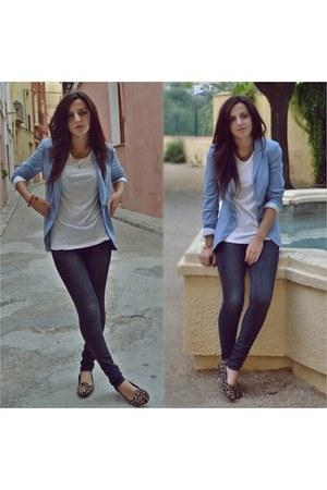 Stradivarius blazer - Only jeans - Lefties t-shirt