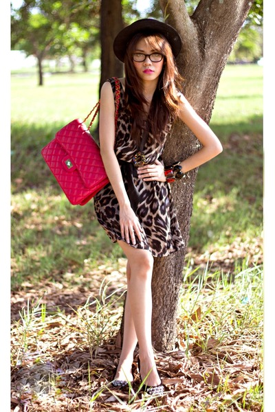 animal print Sugarlips Apparel dress