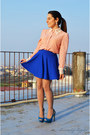 Bubble-gum-pois-banggood-shirt-blue-banggood-skirt