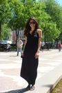 Black-express-dress-black-aldo-shoes-accessories-purple-ray-ban-accessories