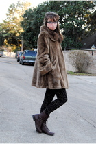 brown Jones New York coat - brown Target boots