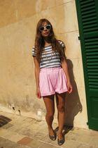 pink vintage shorts