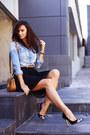 Crimson-michael-kors-bag-black-crochet-pinko-skirt-black-versace-heels