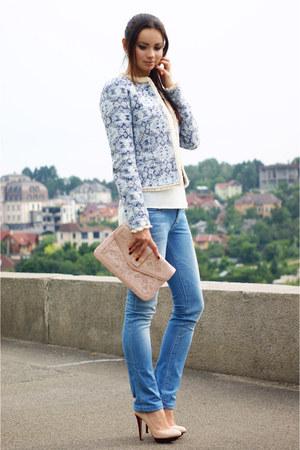 Mango jacket - Guess jeans - Aldo bag