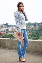 Mango jacket - Guess jeans - Aldo bag