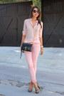 Light-pink-paige-denim-jeans-light-pink-atmani-exchange-shirt