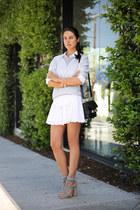 black Proenza Scouler bag - white Boulee skirt