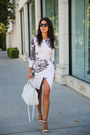 Neutral-nasty-gal-dress-ivory-saint-laurent-bag-off-white-zara-heels