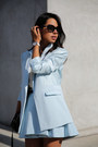 Black-gucci-bag-sky-blue-cameo-suit-gold-gucci-earrings-silver-gucci-watch