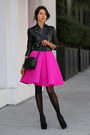 Black-hue-tights-black-gucci-bag-hot-pink-cameo-skirt