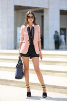 Sandro Paris blazer - Plia Designs bag - Alexander Wang heels