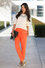 Ivory-j-crew-sweater-black-jack-germain-bag-coral-cameo-pants