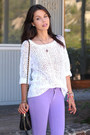 Light-purple-denimocracy-jeans-off-white-dkny-sweater-off-white-tibi-heels
