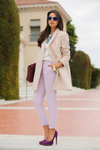 light pink McGinn coat - magenta 31 Phillip Lim bag