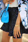 Blue-bebe-blazer-turquoise-blue-asos-bag-white-zara-top-navy-asos-skirt