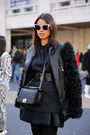 Black-stuart-weitzman-boots-black-mcq-alexander-mcqueen-jacket