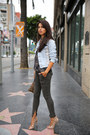 Army-green-joie-jeans-brown-clare-vivier-bag-gray-joie-top