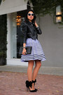 Violet-kenzo-dress-black-valentino-bag-black-aminah-abdul-jilil-heels