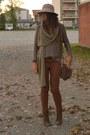 Beige-hat-topshop-hat-light-brown-sweater-h-m-sweater-camel-scarf-zara-scarf