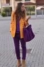 Camel-boots-asos-boots-magenta-sweater-basic-zara-sweater