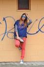 Blue-topshop-shoes-navy-zara-sweater-camel-miabag-bag