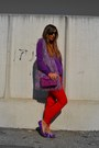 Amethyst-basic-sweater-zara-sweater-amethyst-clutch-romwe-bag