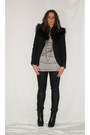 Black-zara-blazer-gray-zara-shirt-black-h-m-pants-black-silvian-heach-boot