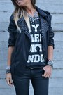 Silver-zara-necklace-black-cnc-shoes-black-zara-man-jacket-black-h-m-pants