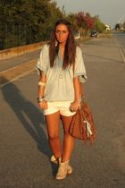 beige leather boots asos boots - brown indy purse Zara purse