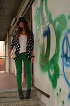 Green Pants&Polka Doots