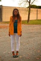 blazer romwe blazer - old top H&M top - pants Zara pants