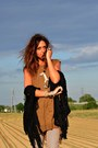 Brown-zara-vest-dark-brown-zara-bag-camel-h-m-pants-black-shellys-heels