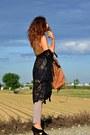 Brown-zara-vest-dark-brown-zara-bag-camel-h-m-pants-black-shellys-heels