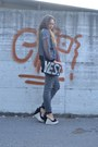 Black-romwe-bag-heather-gray-bershka-jeans-silver-romwe-jacket