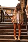 Camel-leather-boots-asos-boots-brown-hat-h-m-hat-camel-vintage-shirt-ivory