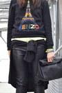 Black-zara-bag-chartreuse-h-m-shoes-chartreuse-h-m-hat