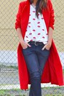 Red-sheinside-coat-white-h-m-boots-dark-gray-zara-jeans-black-zara-bag