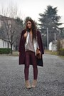 Brick-red-h-m-coat-camel-forever-21-boots-ivory-h-m-blazer