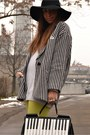 Black-stripes-blazer-romwe-blazer-white-h-m-sweater-black-romwe-bag