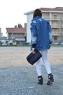 Black-asos-boots-blue-asos-jacket-black-zara-bag-white-zara-pants