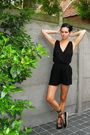 Black-romper-black-shoes-black-headband