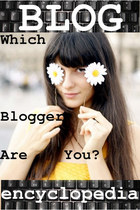BLOG ENCYCLOPEDIA: WHICH BLOGGER ARE YOU?