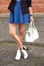 White-sam-edelman-boots-navy-soliver-blazer-navy-asos-skirt