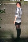White-h-m-sweater-black-pimkie-shorts-black-tights-black-sacha-boots-sil