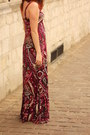 Magenta-dress