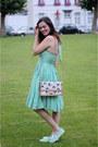 Aquamarine-dress