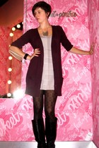 Zara sweater - H&M dress - veritas tights - dont remember boots - various access