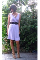 Zara dress - Pimkie belt - Zara shoes - H&M necklace