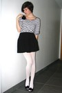 White-tights-black-skirt-white-top-black-accessories